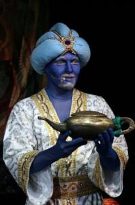 спектакль волшебная лампа аладдина в в Московском Драматическом театре имени Рубена Симонова