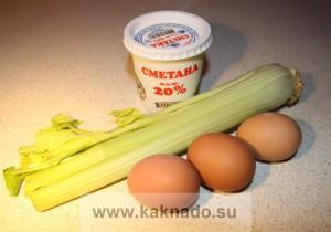 рецепт салата с сельдереем без соли, бессолевая диета