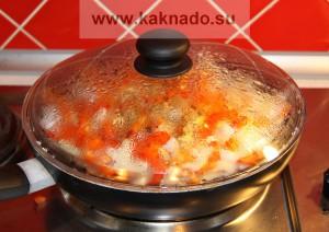 рецепт бессолевой пищи, свинина тушеная с овощами