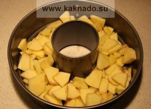рецепт десерта при бессолевой диете, шарлотка