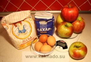 рецепт десерта при бессолевой диеты, рецепт шарлотки без соли