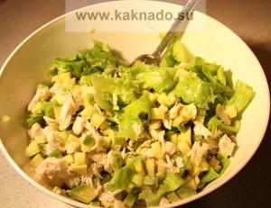 рецепт бессолевого салата