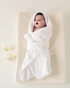 банная простыня для новорожденного