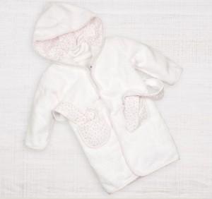 банный халат для новорожденного