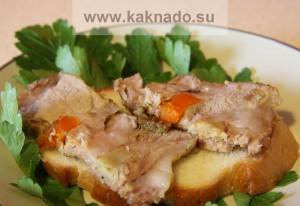 бессолевая диета беременных, мясо для бутербродов