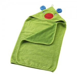 полотенце с капюшоном для новорожденного в подарок