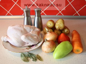какие продукты нужны для приготовления супа ребенку