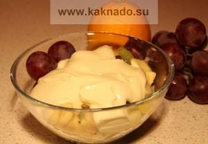 рецепт фруктово-творожного десерта для беременных