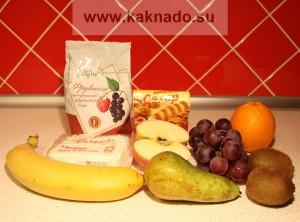 что нужно для приготовления фруктово-творожного десерта беременных