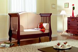 детская кроватка-диван