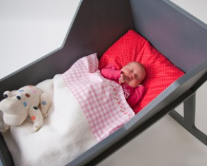 дизайнерская кроватка для новорожденного
