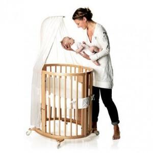 дизайнерская детская кроватка для новорожденного из норвегии