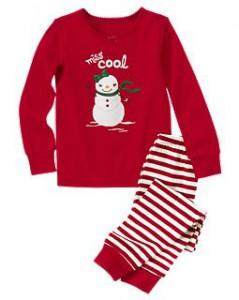классическая пижама для ребенка