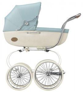 классическая коляска-люлька для новорожденных