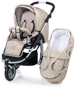 трехколесная коляска-трансформер для новорожденного