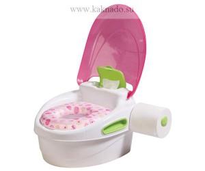 детский горшок с держателем для туалетной бумаги