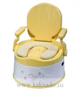 горшок стульчик с мягким сиденьем