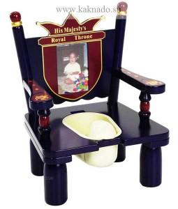 деревянный горшок-трон
