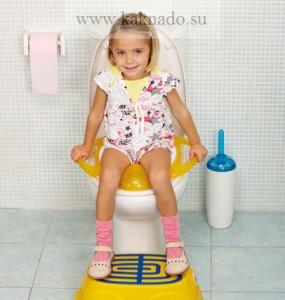 какие бывают детские сиденья на унитаз