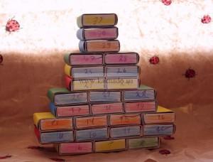 как сделать рождественский календарь своими руками