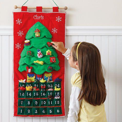 Как сделать адвент календарь для детей своими руками