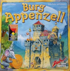 настольная игра сырный замок коробка, burg appenzell