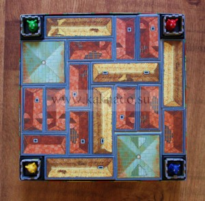 настольная игра сырный замок крыши