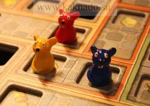 настольная игра сырный замок мышки