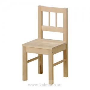 детский деревянный стульчик икея