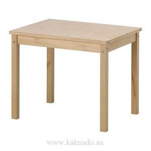 детский деревянный стол икея