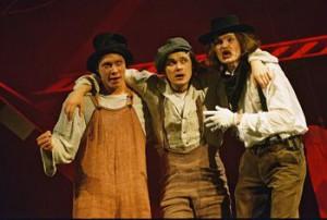 спектакль Необычайные приключения Т.С. и Г.Ф. по Марку Твену в театре юнозо зрителя г. москвы