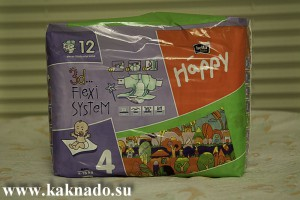 одноразовые подгузники Bella Baby Happy maxi 8-18кг 12 шт