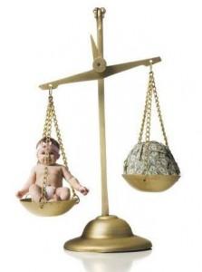 сколько нужно денег на новорожденного