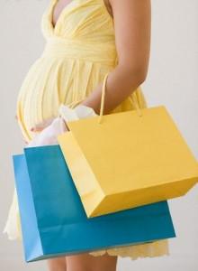 беременная шоппинг