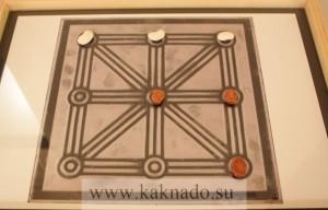 прообраз игры в крестики-нолики