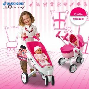 коляска для кукол 3 в 1
