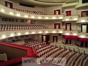 зрительный зал малого театра