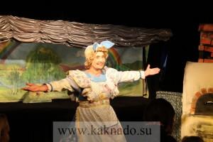 московский детский театр марионеток, спектакль тетушка луша и колобок ванюша отзывы