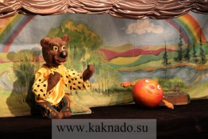 медведь и колобок