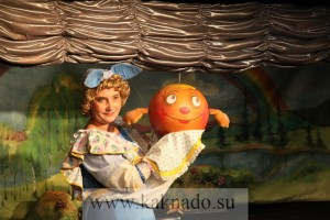 театр марионеток спектакль тетушка луша и колобок ванюша отзывы
