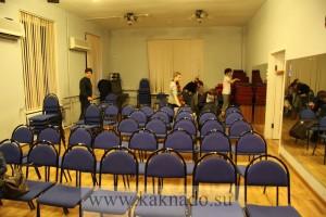 зрительный зал после спектакля