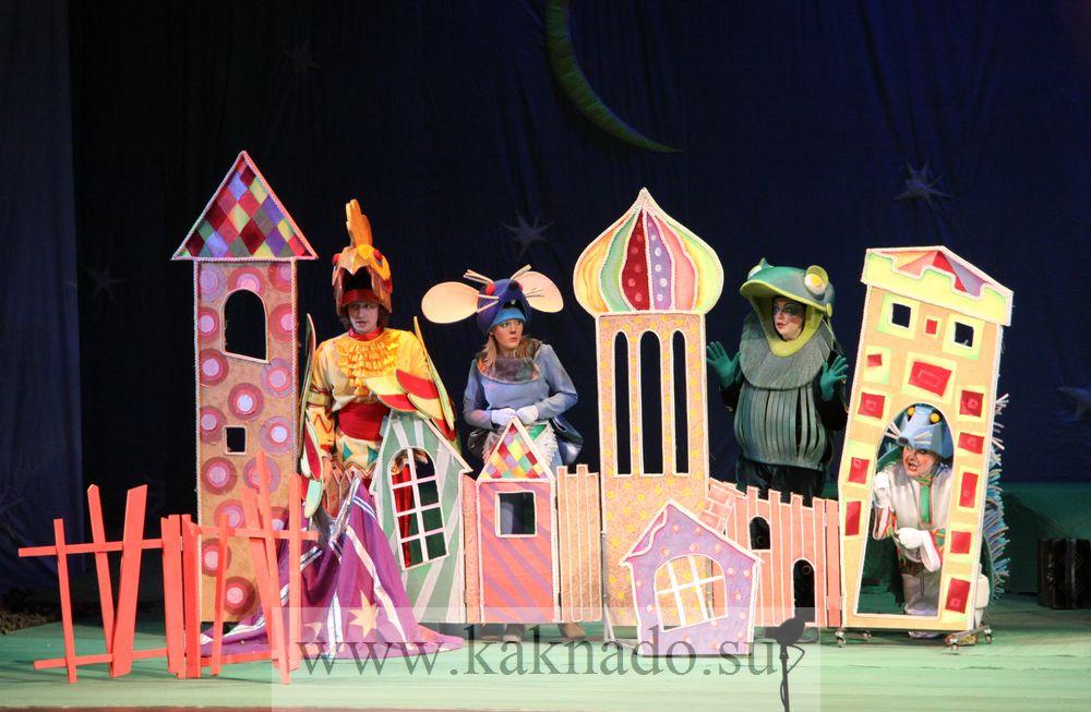 Спектакль кукольного театра своими руками