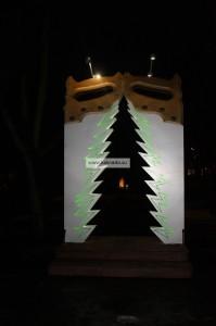 путешествие с ребенком в ригу латвия на новогодние каникулы отзывы, новогодние елки на улицах города фото
