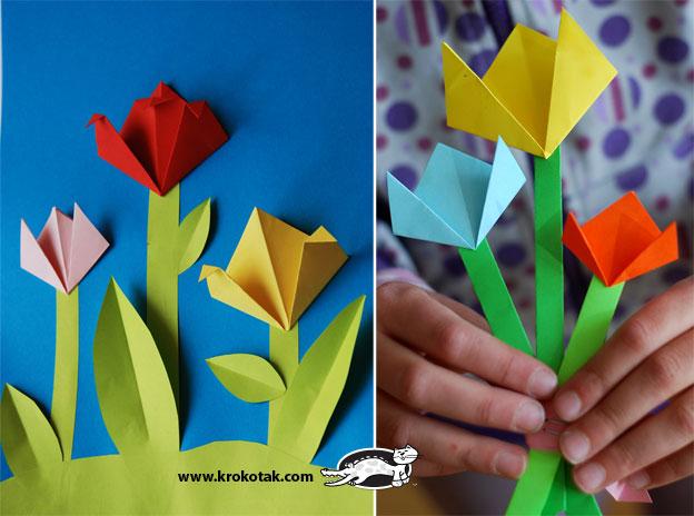 поделки с ребенком своими руками, открытка маме или бабушке на 8 марта, как сделать открытку на 8 марта с ребенком