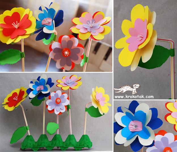Цветы своими руками быстро и легко