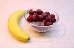 диетический десерт, вишневый щербет