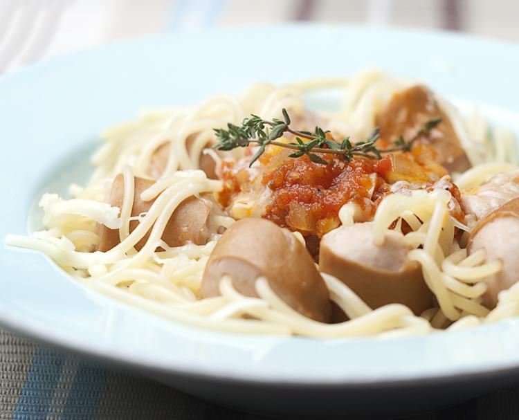 смешные и забавные рецепты спагетти для детей