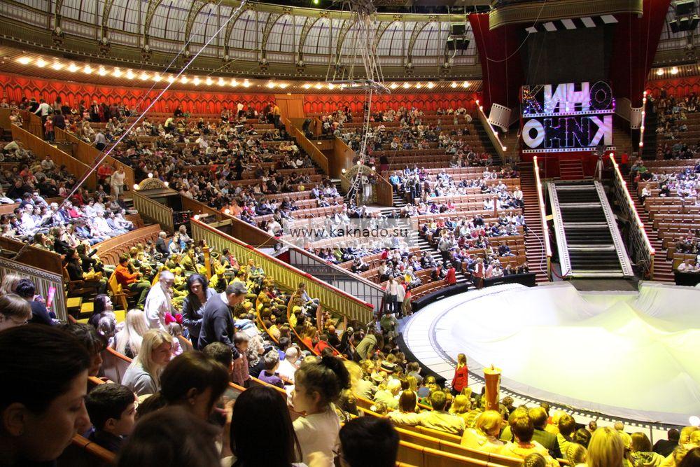 Цирк на вернадского фото зала