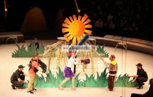 цирковой спектакль времена в большом цирке на проспекте вернадского, отзывы, цирк запашных