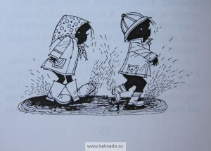 книга анни шмидт саша и маша, рисунки